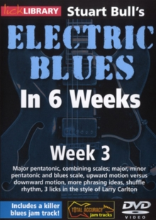 Electric Blues in 6 Weeks With Stuart Bull: Week 3, DVD  DVD