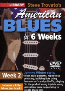 American Blues Guitar in 6 Weeks: Week 2 - Johnny Winter, DVD  DVD