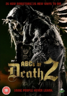 The ABCs of Death 2, DVD DVD