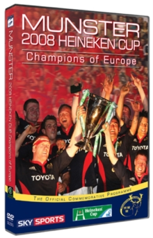 Munster Rugby: Champions of Europe 2008, DVD  DVD