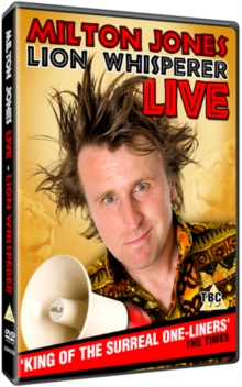 Milton Jones: Lion Whisperer, DVD  DVD