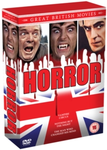 Great British Movies: Horror, DVD  DVD