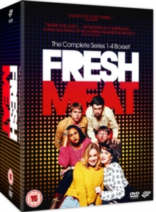 Fresh Meat: The Complete Series 1-4, DVD DVD