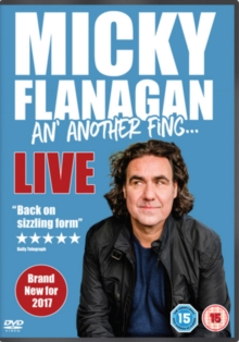 Micky Flanagan: An' Another Fing Live, DVD DVD