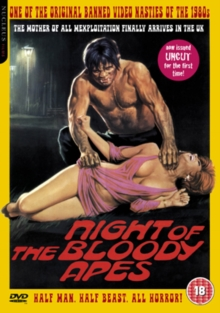 Night of the Bloody Apes: Uncut, DVD  DVD