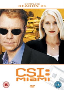 CSI Miami: The Complete Season 1, DVD  DVD