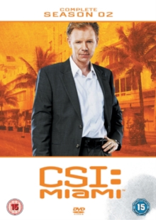 CSI Miami: The Complete Season 2, DVD  DVD