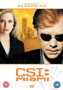 CSI Miami: The Complete Season 3, DVD  DVD