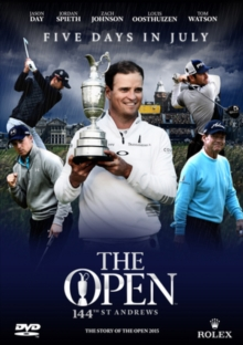 The Open Championship: The 2015 Official Film, DVD DVD