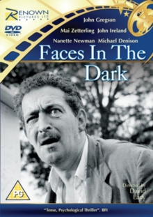 Faces in the Dark, DVD  DVD