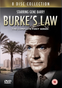 Burke's Law: The Complete First Series, DVD DVD