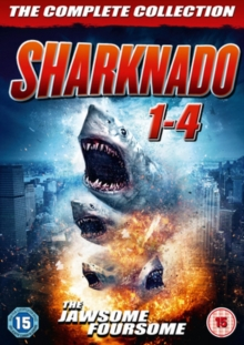 Sharknado 1-4, DVD DVD
