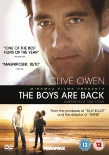 The Boys Are Back, DVD DVD