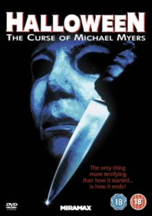 Halloween 6 - The Curse of Michael Myers, DVD  DVD