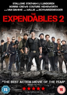 The Expendables 2, DVD DVD