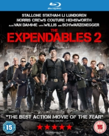 The Expendables 2, Blu-ray BluRay