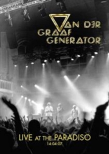 Van Der Graaf Generator: Live at the Paradiso, DVD  DVD