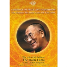 H.H. The Dalai Lama: A Message of Peace and Compassion, DVD  DVD