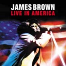 James Brown: Live in America, DVD  DVD
