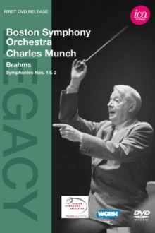 Charles Munch: Brahms Symphonies Nos. 1 and 2 (Boston Symp.Orch.), DVD DVD