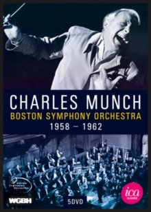 Charles Munch: Boston Symphony Orchestra 1958-1962, DVD  DVD