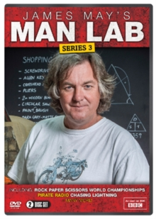 James May's Man Lab: Series 3, DVD  DVD