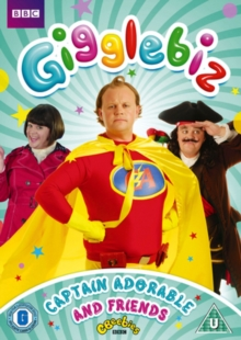 Gigglebiz: Captain Adorable and Friends, DVD  DVD