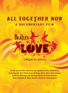 The Beatles and Cirque Soleil: All Together Now, DVD DVD