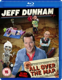 Jeff Dunham: All Over the Map, Blu-ray  BluRay