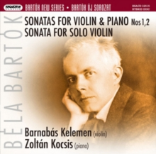 Bela Bartok: Sonatas for Violin & Piano, Nos. 1, 2/..., SACD / Hybrid Cd