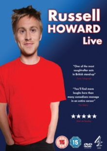 Russell Howard: Live, DVD  DVD