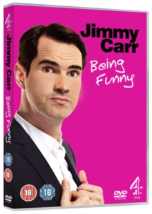 Jimmy Carr: Being Funny, DVD  DVD