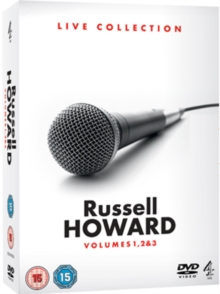 Russell Howard: Live Collection - Volumes 1, 2 and 3, DVD  DVD