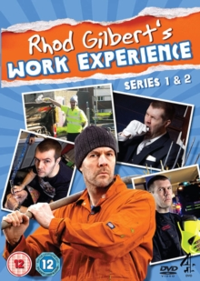 Rhod Gilbert's Work Experience: Series 1 and 2, DVD  DVD