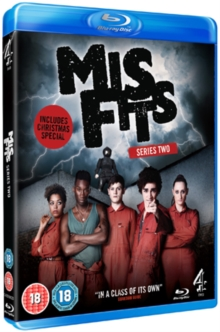 Misfits: Series 2, Blu-ray  BluRay