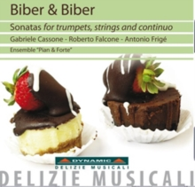 Biber & Biber: Sonatas for Trumpets, Strings and Continuo, CD / Album Cd