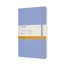 LARGE RULED PB NOTEBOOK: HYDRANGEA BLUE,  Book