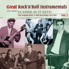 Great Rock 'N' Roll Instrumentals: The Original Rock 'N' Roll Recordings 1950-1960, CD / Album Cd