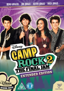 Camp Rock 2 - The Final Jam (Extended Edition), DVD  DVD