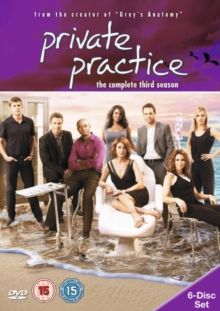 Private Practice: The Complete Third Season, DVD  DVD