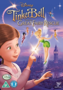 Tinker Bell and the Great Fairy Rescue, DVD  DVD