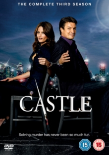 Castle: The Complete Third Season, DVD  DVD
