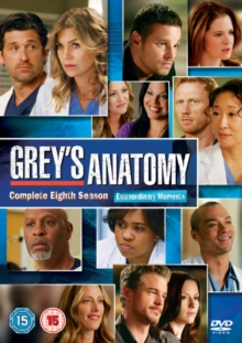 Grey's Anatomy: Complete Eighth Season, DVD  DVD