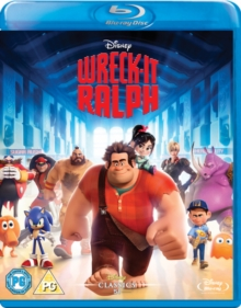 Wreck-it Ralph, Blu-ray  BluRay