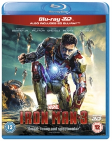 Iron Man 3, Blu-ray  BluRay