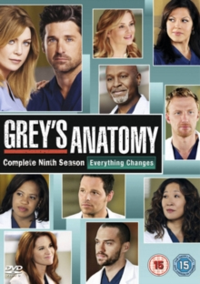 Grey's Anatomy: Complete Ninth Season, DVD  DVD
