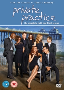 Private Practice: The Complete Sixth Season, DVD  DVD