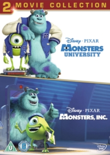 Monsters, Inc./Monsters University, DVD  DVD