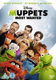 Muppets Most Wanted, DVD  DVD