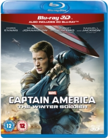 Captain America: The Winter Soldier, Blu-ray  BluRay